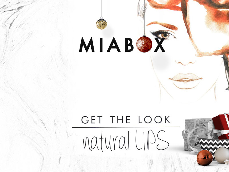 "Christmas Edition ""Natural Lips"""