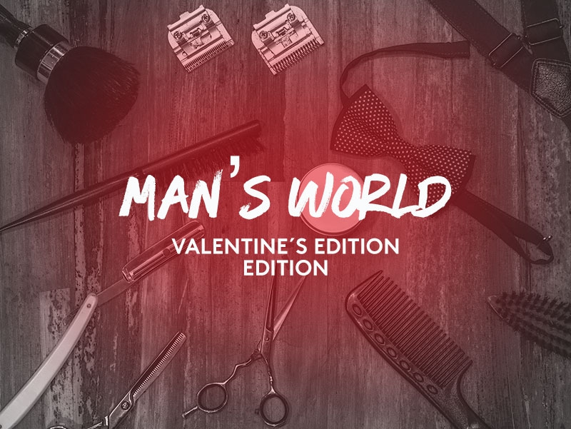 "Miabox ""Man`s World Valentine `s - Edition"""