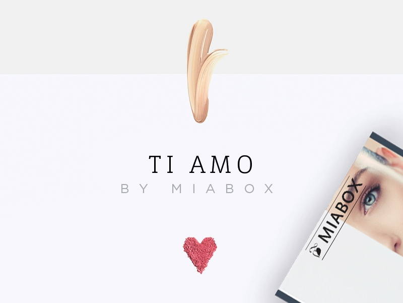 "Miabox ""TI AMO"" - Edition"