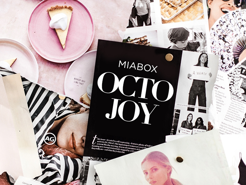 "Miabox ""OCTOJOY"" –Edition Oktober 2018"