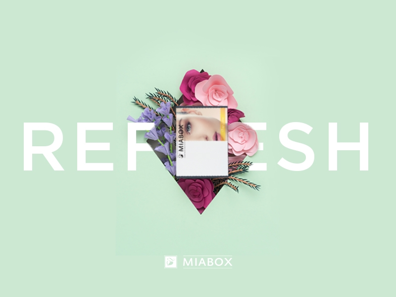 "Miabox ""REFRESH""- Januar-Edition"