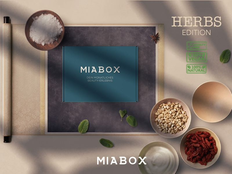 Miabox HERBS-Edition August