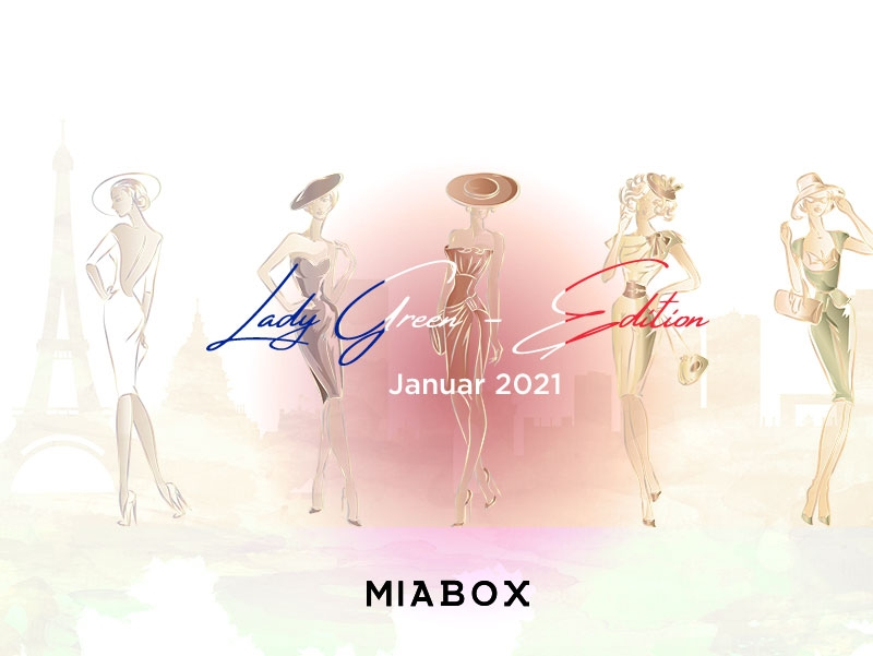 Miabox Lady-Green-Edition Januar